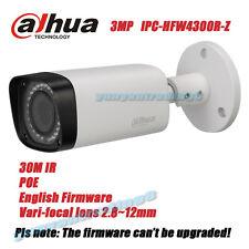 DaHua IPC-HFW4300R-Z 3MP POE VariFocal 2.8-12mm Motorized lens Bullet IP Camera