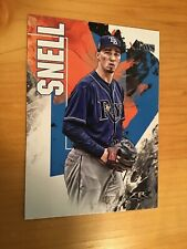 2019 Topps Fire Blake Snell #138 Tampa Bay Rays