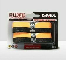 New Karakal Pu Super Grip Duo Twin Blister Pack Replacement Grip,Colors May Vary
