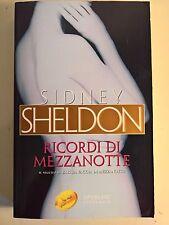 LIBRO - SIDNEY SHELDON - RICORDI DI MEZZANOTTE - SPERLING PAPERBACK 2005