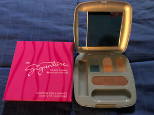 Brand New Mary Kay Signature Custom Compact Bronze Sands - Jade - Copper Beach