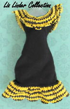MONSTER HIGH ~ Create a CAM Witch / Cat BLACK & YELLOW DRESS Clothes