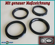 cadeau 70.1-66.0 spigot rings set de 4 pour roue alliage hub centric wheel spacer