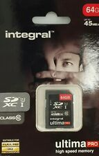 INTEGRAL SD XC I 64 GB 45 MBS ULTIMA PRO X U1