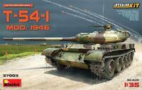 Miniart 1:35 T-54-1 Mod.1946 Soviet Medium Tank With Interior Model Kit