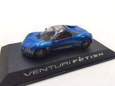 venturi fetish n8/40 collection concept cars 1/43 altaya sur socle + fascicule
