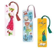 Lesezeichen*für Kindern*Meerjungfrau*Elfe Flirr*Zauberin*Einschulung* Schulstart
