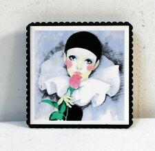 Dessous de plat ou cadre Pierrot vintage