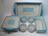 NEW Temp-Tations By Tara Old World  Set of 12 Dishes  Local Pick-Up Only