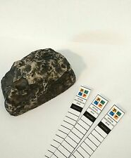 Fake Rock / Stone Cache Container for Geocaching Micro Tube comes w/ 3 Log Books