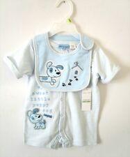 Little by Little - 2-Piece Shortall Set - Baby Boy - 6 - 9 Months - NWT