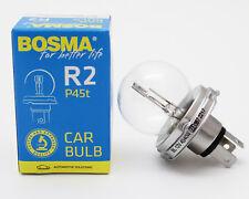 Lampe Birne Bosma R2 P45T 12V 45/40W Bilux Halogen Premium Kugellampe E-Geprüft