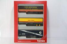 """Herpa Set mit 3 versch. US-Aufliegern """"Illinois Pacific Wabash"""" Nr. 7578 /H3344"""