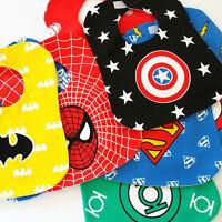 Marvel Superhero Toddler Infant Waterproof Cotton Feeding Bib Apron Christening