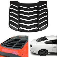Rear Quarter Window Louver Scoop Cover SunShade Vent For Ford Mustang 2015-2018