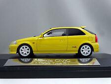 1/43 Hi Story Honda Civic 1998 Type R Yellow HS037