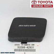 NEW GENUINE OEM TOYOTA 06-08 RAV4 LEFT DRIVER FRONT BUMPER ARM COVER 53286-42931