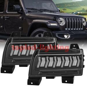 2020 JL Fender Light LED DRL Turn Signal Light For Jeep Wrangelr JL Sport/Sports