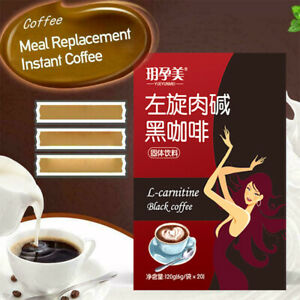 L-carnitine Black Coffee Instant Coffee for Weight Loss Grinding Coffee New