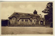 A 004 ISLE OF WIGHT - POSTCARD OF ST.AGNES CHURCH,FRESHWATER BAY - Photochrom