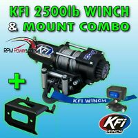 Warn ATV Vantage 2000lb Winch w//Mount 2008-2018 Suzuki King Quad 400