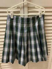 Mills Girls Plaid Skirt- Size C10