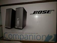 Bose Companion 2 Series II Multimedia Speaker System Silver NEW! Sealed new Box