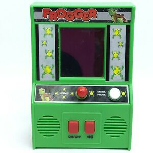 Frogger toy game Mini arcade
