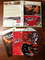 Gears of War / Pgr 4 Xbox 360 Perfetta Edizione Italiana Completa con Manuale
