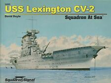 USS Lexington CV-2 Squadron at Sea by Squadron / Signal 34005