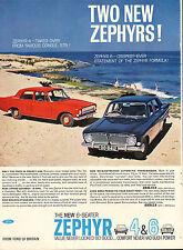 original large colour advert 1962 . new 6 - seater zephyr