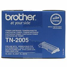 1 x Brother Originale OEM Cartuccia Toner Nero per TN2005-HL-2037, HL2037