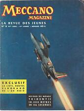 meccano magazine, n°8. 6ème année (juin 1958)