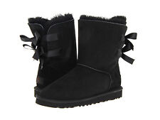 Womens Ugg Australia Bailey Bow Boots Twinface Sheepskin 1002954 NEW Authentic