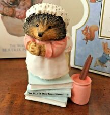 Vintage Beatrix Potter The Tale of Mrs Tiggy Winkle Figurine New