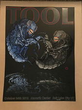 TOOL  10/24/16 SALT LAKE CITY OFFICIAL CONCERT  POSTER  HAND NUMBERED ED OF 600