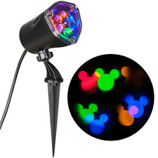 DISNEY Magic Holiday Mickey In Motion Multicolor Projection Spotlight Christmas