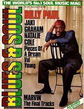 Billy Paul Blues & Soul 1985  Warren Mills  Jaki Graham  Natalie Cole  Val Young