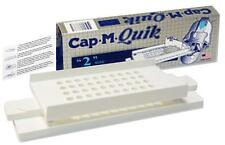 CAP-M-QUIK Kit ~ SIZE 2 ~ Quick Filler Empty Capsule Filling Machine W/O Tamper