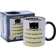 NEW AWESOME DC Comics Batman Novelty Coffee Tea Mug