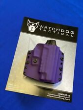 Watchdog Tactical OWB/IWB Holster for Sig Sauer P226, Right-Handed, Purple