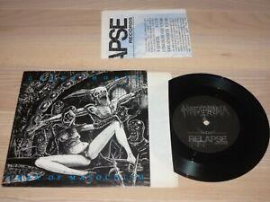"Goreaphobia 7"" SINGLE - Omen Of Masochism / 1991 US in MINT"