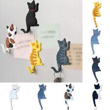 Cute Silicone Fridge Magnet Cat Hook Refrigerator Sticker Decoration Home