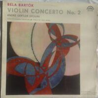 Bela Bartok - Violin Concerto No.2, ANDRÉ GERTLER, ANCERL, CPO, Supraphon MONO