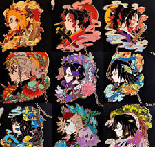 Demon Slayer Kimetsu no Yaiba Tsugikuni Yoriichi Iwakatsu Badge Pin Brooch N
