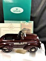 Kiddie Car Classics 1937 Steelcraft Airflow by Murray Luxury Edition QHG9024