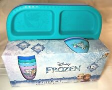 Disney Frozen Mealtime set/New in the box BPA free 12 peices