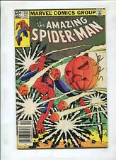 THE AMAZING SPIDER-MAN #244 (5.5) SIGNED BY JOHN ROMITA JR.
