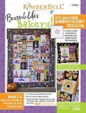 Kimberbell KD804 Broomhilda's Bakery Machine Embroidery Cd