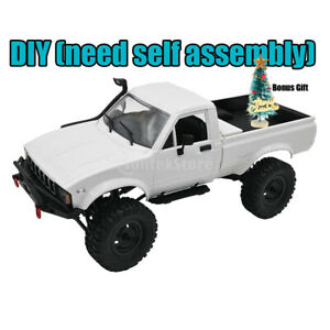 DIY WPL C24 1 1/16 4WD Mini Pickup Truck RC Car Kit Funksteuerung Climber